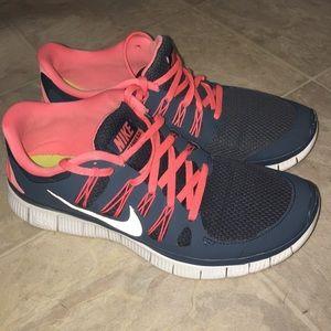 Nike Free 5.0 cute running shoes